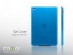 Comoi Design Gel Cover für iPad mini Blau