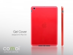 Comoi Design Gel Cover für iPad mini Rot